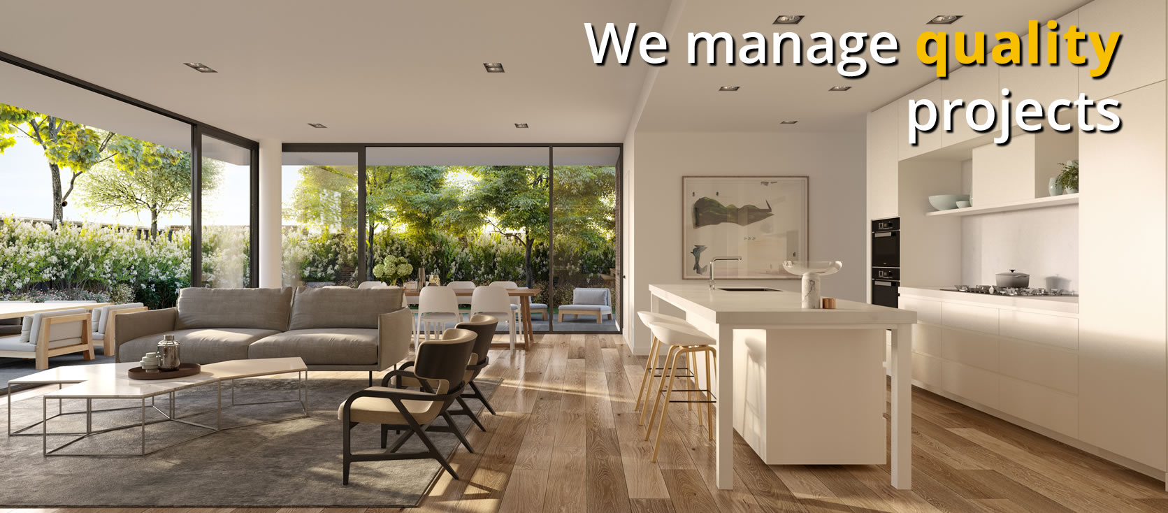 We manage <b>Quality</b> projects
